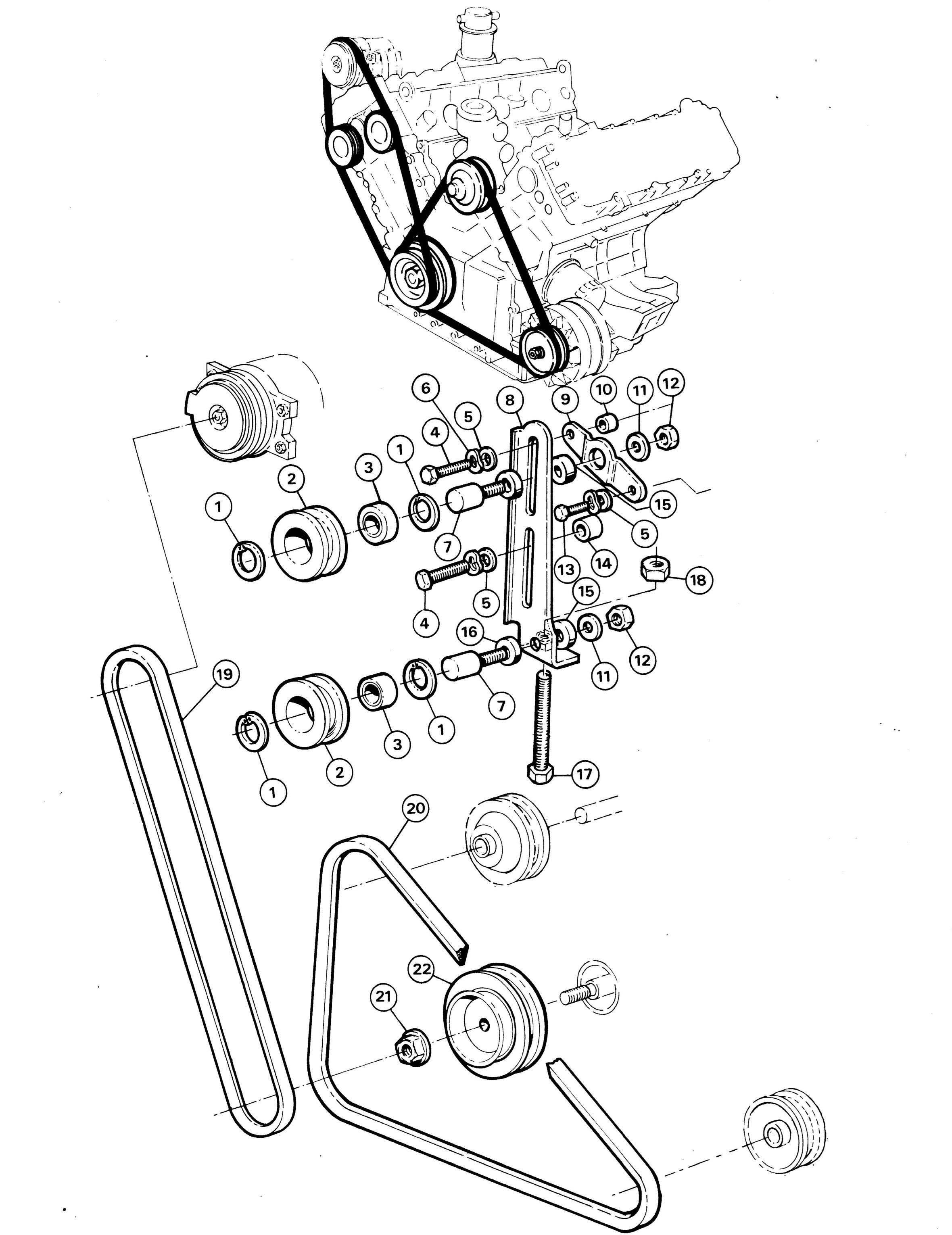 2000 oldsmobile intrigue belt diagram