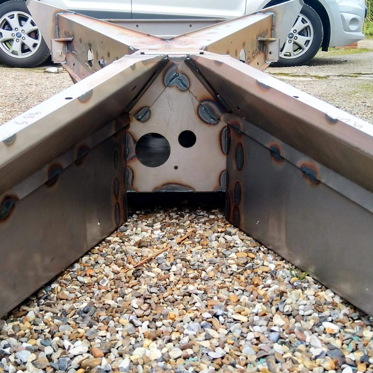 Complete Manual Frame / Chassis (galvanised and powdercoated) - MADE ...