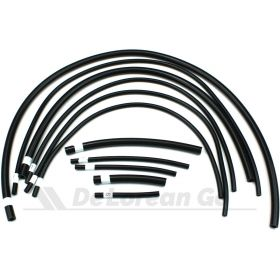 Silicone Vacuum Hose Kit (Black)