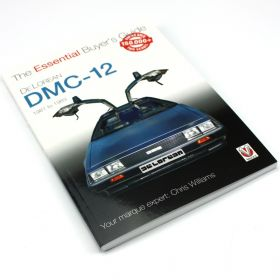 DeLorean: The Essential Buyer's Guide (paperback book)
