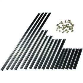 Engine Cover Grille Retaining Strips KIT