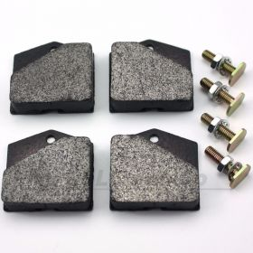 Handbrake Pads with bolts (complete set of 4 for parking brake)