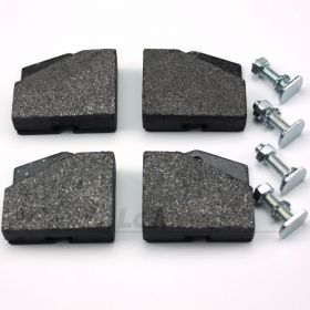 Ferodo Handbrake Pads with bolts (complete set of 4 for parking brake)