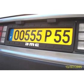 Euro-Style License Plate Bezel Numberplate Surround