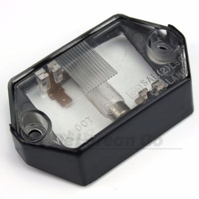 Number Plate Light Lens Assembly