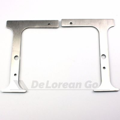 Headlight Gap Finisher Set (stainless)