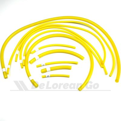 Silicone Vacuum Hose Kit (Yellow)