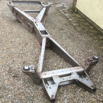 Complete Manual Frame / Chassis (galvanised and powdercoated) - MADE TO ORDER - COLLECTION OR SELF-SHIPPING ONLY