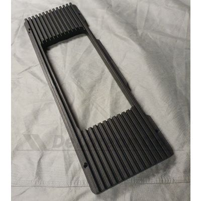 Plastic OEM Sized Ribbed License Plate Surround