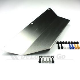 Stainless Front Number Plate Bracket Kit