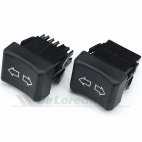 DeLorean window switch - pair of switches