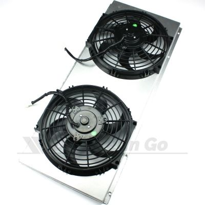 Cooling Fans with Aluminium Cowling