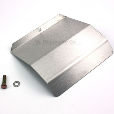 Stainless De Ice Plate / Throttle Spool Cover