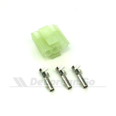 3 Pin Female Connector