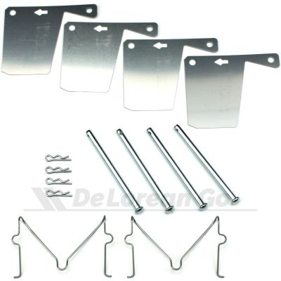 Front Brake Pad Fitting Kit with Anti Squeal Shims (PAIR)