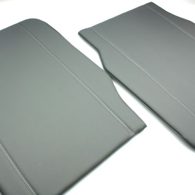 PAIR of Seat Back Trim Panels (Grey) to match original seat covers